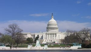 A picture of the US Capitol